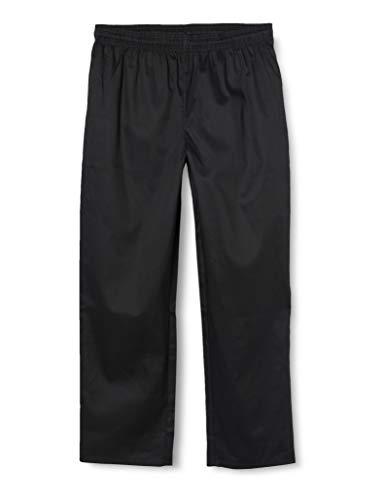 Whites Chefs Apparel A582-L Vegas - Pantaloni da Cuoco, Colore: Nero