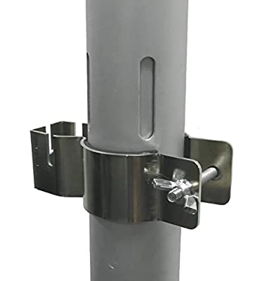 Pipe and Drape Clamp - CanvasETC - Slip-Collar Uprights Accessory to add Additional Drape Supports - One Clamp