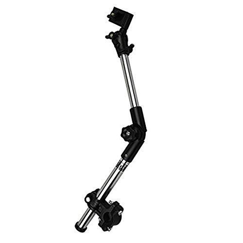 PULABO Beliebte Zweiteilige Rollstuhl Kinderwagen Stuhl Fahrrad Regenschirm Anschluss Halter Halterung Ständer max. 45 cm lang Kostengünstig und langlebig interessant