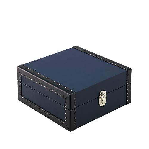 bon comparatif Rapport London, Kensington Blue Luxury Six Watch Box avec Road Rollers un avis de 2021