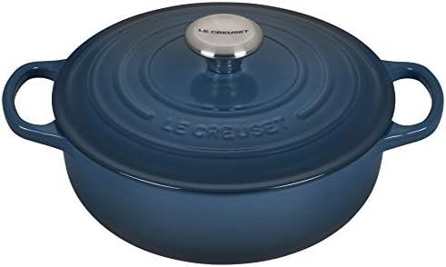 Le Creuset Enameled Cast Iron Signature Sauteuse Oven, 3.5 qt., Deep Teal