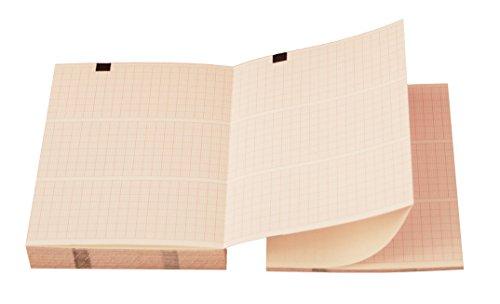 tecnocarta 8745553paquetes de papel térmico para ECG compatibles con Cardioline Delta 3–8745553, 25unidades)