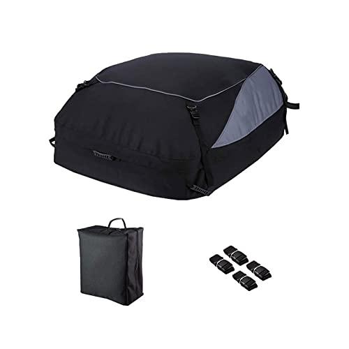 HSMIN. 160 * 110 * 45 Cm Car Cargo Roof Borse Bagagli 600D Oxford Panno Pieghevole Impermeabile Auto Impermeabile Bagaglio Portaoggetti Accessori da Viaggio (Color : S)