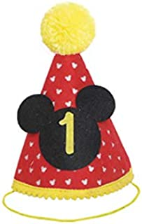 Best mickey birthday hat Reviews