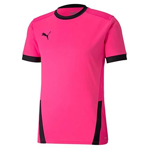 PUMA Herren teamGOAL 23 Jersey T-Shirt, Fluo Pink Black, 3XL