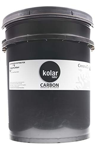 Kolar Labs Crystal Cal Activated Carbon – 5 Gallon, Activated Charcoal for Aquariums and Fish Tanks