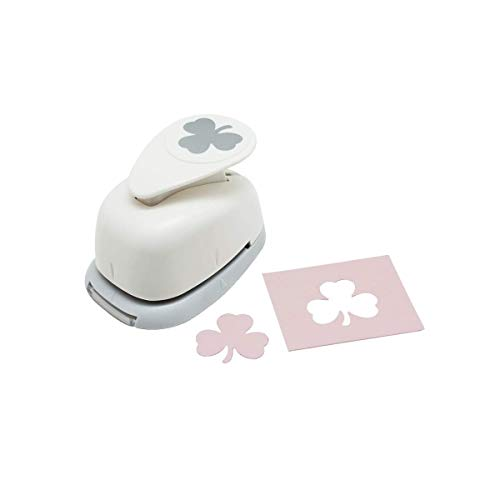 Bira 1 inch Shamrock 1 Lever Action Craft Punch, St. Patrick's Day Punch, for Paper Crafting Scrapbooking Cards Arts