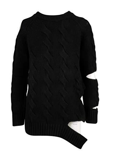 Luxury Fashion | Zoe Jordan Dames ZJKL1642ABLACK Zwart Kasjmier Truien | Lente-zomer 20