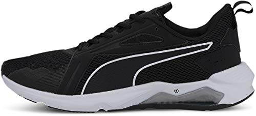 PUMA LQDCELL Method, Cross Trainer Hombre, Negro y Blanco, 45 EU
