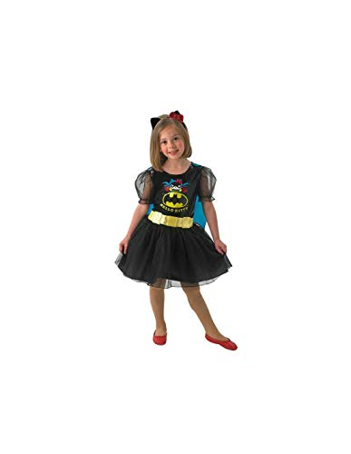 DISBACANAL Disfraz Batgirl Hello Kitty Infantil - -, 5-7 años