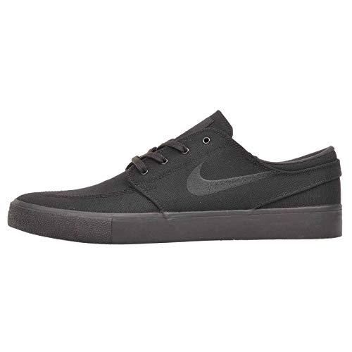 Nike SB Zoom Stefan Janoski Herren Wildleder, Schwarz (Black/Black-black-black), 45 EU