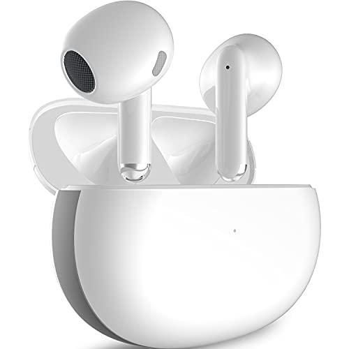 Cuffie Bluetooth 5.2 Auricolari Wireless 40 ore impermeabile Cuffia Senza Fili HiFi Cuffiette in-ear Ricarica Rapida con Microfono per PC Android TV Xiaomi Samsung Huawei