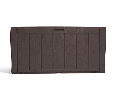 Keter Aufbewahrungsbox Sherwood in Holzoptik, graphite, 270L