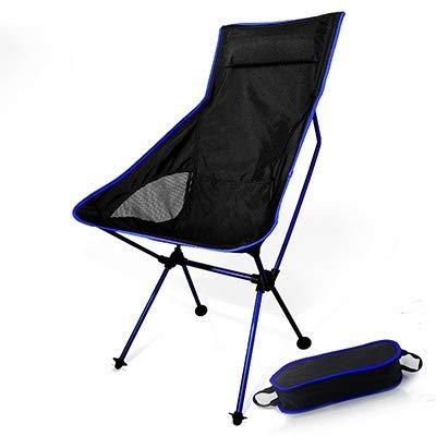 Draagbare klapstoel maan campingstoel visstoel BBQ opklapbare kruk uittrekbare wandelstoel tuinstoel ultralight kantoor meubel voor thuis