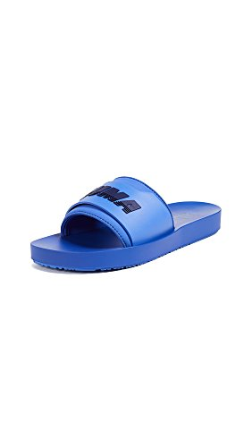 PUMA Women's x Fenty Surf Slides, Dazzling Blue/Evening Blue, 6.5 M US