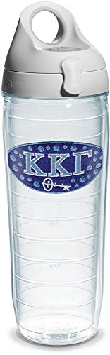 Tervis Kappa Gamma Fraternity Gourde avec couvercle Transparent 680 ml