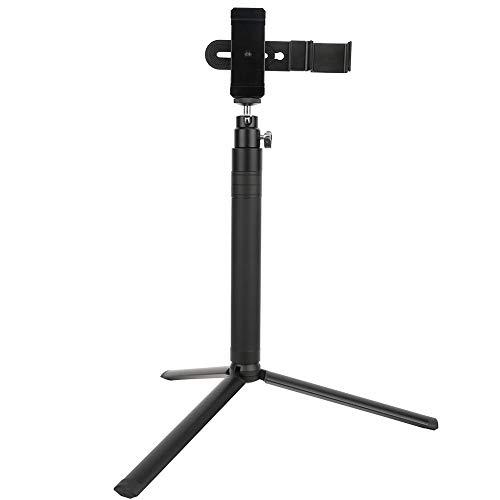 Soporte para teléfono portátil de aleación de aluminio Selfie Stick, juego de clips para teléfono con trípode de escritorio, con varilla de extensión, para cámara de mano con cabezal esférico FIMI PAL