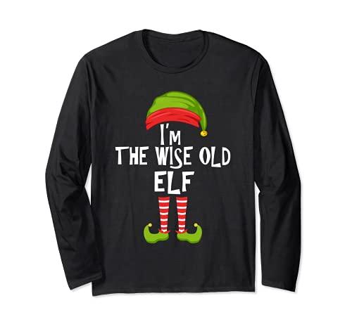 Soy el viejo elfo sabio que hace juego con el pijama de la f Manga Larga