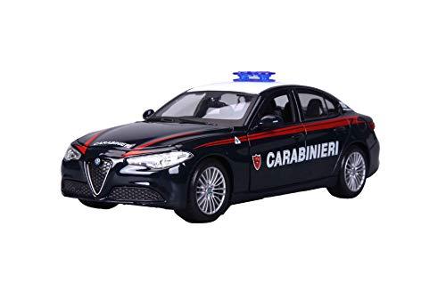 Burago Carabinieri, Modellino in scala die cast 1:24, Modelli assortiti, 1 pezzo