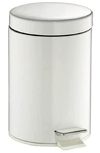 Wesco 103 012 Tretabfallsammler, 3 Liter Edelstahl