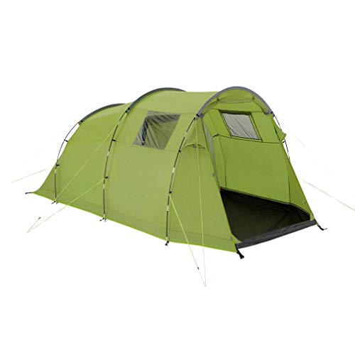 Eurohike Sendero 4 Easy To Pitch 4 Person Family Tent, Green, One Size