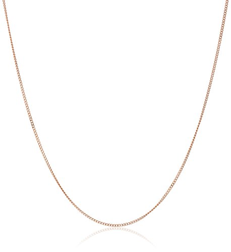 14k Gold Baby Curb Chain Necklace