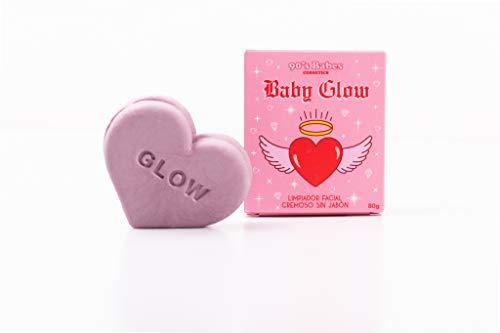 pequeño y compacto Limpiador facial cremoso Baby Glow Soap