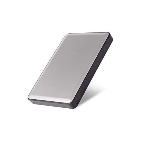 LBWT Disco Duro Portátil, Móvil De Disco Duro 500 GB De Capacidad Simple Operación USB3.0 / Inicio/Escuela Oficina (Color : Silver, Size : 500gb)