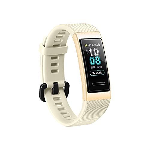 Reloj Bands Strap for Wei Band 4 Pro 3 Pro Strap Silicone Sports Reemplazo de la muñeca Strap for Wei 3/3 PRO Banda Smart Mulbanda (Color : Gold)