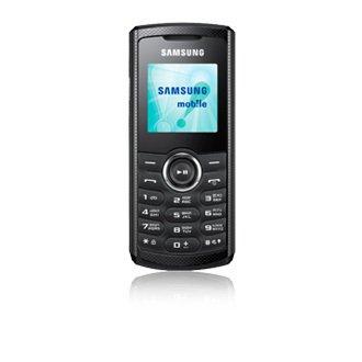 Samsung E2121 1,52 Zoll, 83 g, Schwarz, Single SIM, 3,86 cm (1,52 Zoll), 128 x 128 Pixel, Schwarz