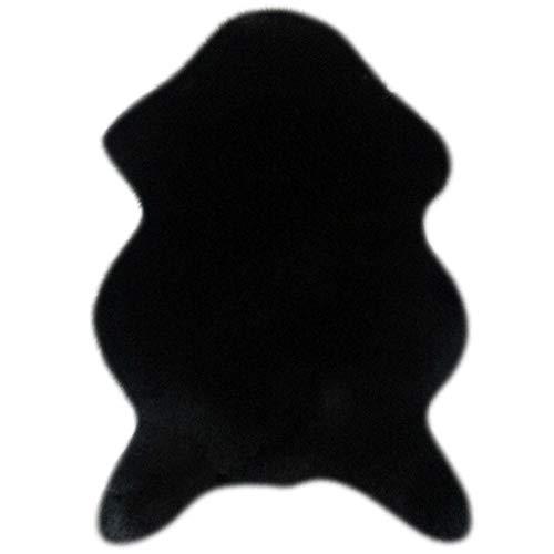 LLAAIT Accueil Faux Peau De Mouton Tapis Décoration De Bureau Ultra Doux Chaise Housse De Canapé Tapis Chaud Poilu Tapis Siège Pad Canapé Tapis De Sol, NO.5, 60 cm x 90 cm