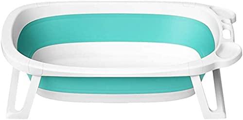 VIVOCC Bañera portátil Plegable para niños niños Tomar un baño Adecuado para Todas Las Temporadas Bañera Bañera Grande Espacio Ahorro de Espacio Aparato de baño Freestanding Ducha Cuenca
