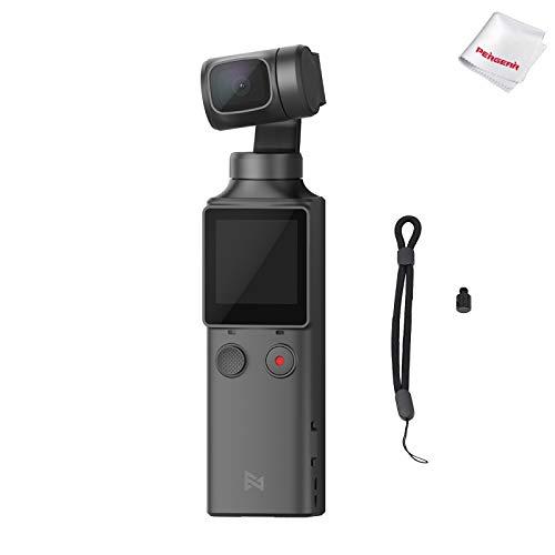 3K स्मार्ट कैमरा, 4 ° अल्ट्रा वाइड एंगल लेंस, 128g, बिल्ट-इन माइक्रोफोन के साथ FIMI पाम पॉकेट 120-एक्सिस जिम्बल स्टेबलाइजर ...