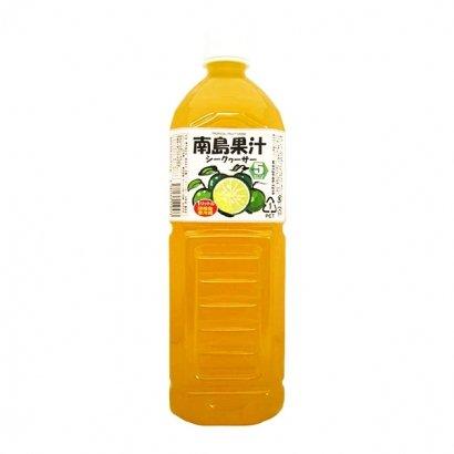 南島果汁 シークヮーサー 1L×6本 PET