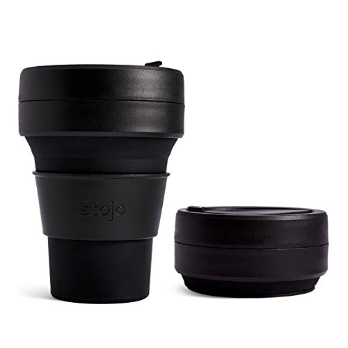 Stojo 12oz Collapsible Pocket Cup - Brooklyn Collection (Ink)