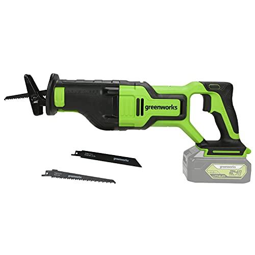 Greenworks Tools 1200407 Seghe ad Affondamento, 24 V