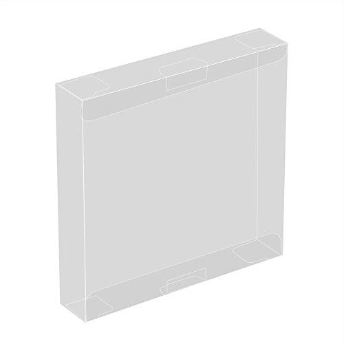 Zerone 10pcs étui à Cartouche Transparent en Plastique Jeu étui de Protection pour Nintendo Game Boy GBA Jeu en boîte Anti-Rayures