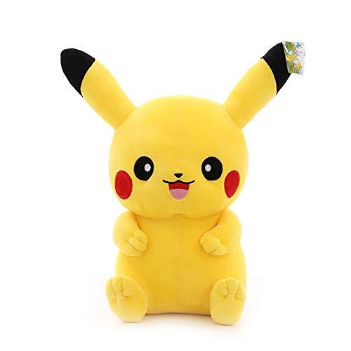 Recordever Pikachu Knuffel Klassieke Cartoon Pikachu Pokemon Doll-happy Pikachu _30cm (0.28kg)