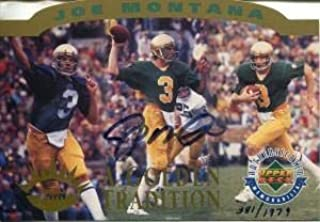 Best joe montana autographed football card Reviews
