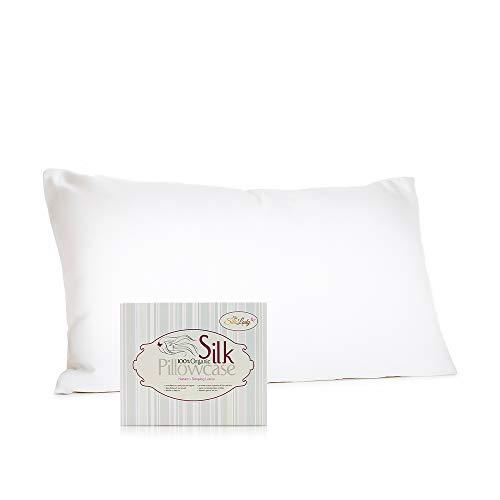 Seda dama de seda satén funda de almohada 100% orgánico–para pelo y belleza facial–(King Size 20'x 36)