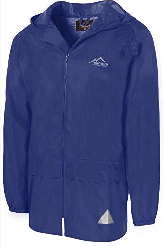 normani Leichte Windjacke/Regenjacke im Beutel, Unisex - Erwachsene Farbe Navy Größe 6XL
