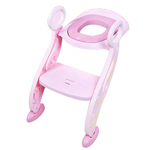 NEVY-Step ladder Stap Ladder Vouwen Baby Potty Seat Urinale Rugleuning Trainingsstoel Voor Baby Peuters Safe Toilet Potties