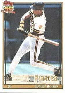 1991 Topps #570 Barry Bonds Baseball Card