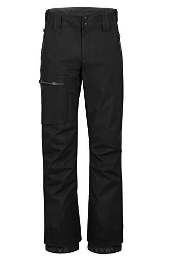 Marmot Herren Refuge Pant Hardshell Ski- Und Snowboard Hose, Winddicht, Wasserdicht, Atmungsaktiv, Black, XL