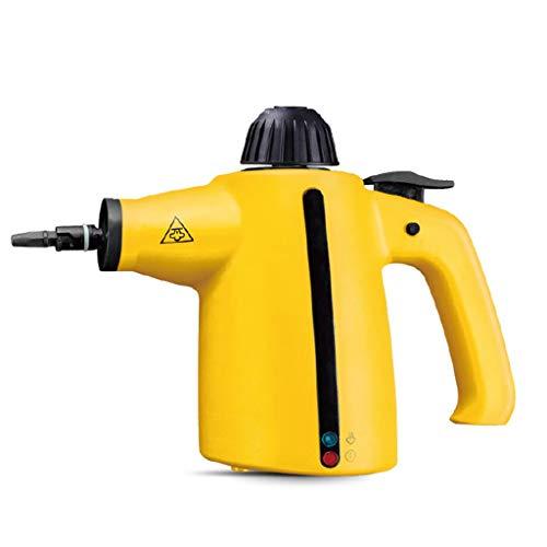 Nettoyeur vapeur à main - Accessoires de 9 pièces sans produits chimiques haute pression pour tapis 3,5 bar - Supprime les taches, rideaux, sièges d'auto, planchers, nettoyage de vitres