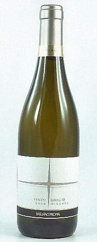 Pinot Grigio Trentino DOC Riserva 2017 Mezzacorona, trockener Weisswein aus Trentino