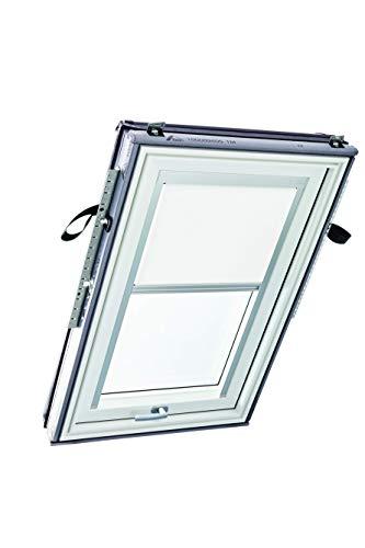 Roto R4/R7x M AL R01 Original Exklusivrollo (ZRE) Dachfenster R4/R7 und Classic, Größe 06/11, Weiß (R-01)