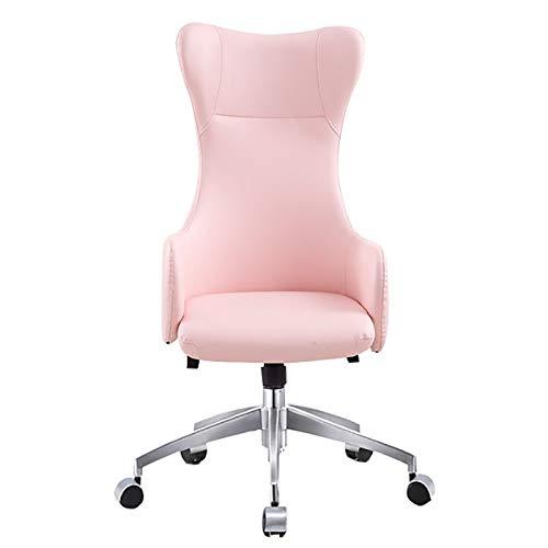 Qi Peng Fauteuil pivotant - Ordinateur - Chaise de Bureau de Loisir - Fauteuil élévateur à Dossier Haut - Fauteuil pivotant pour Chaise de Direction Chaise pivotante (Couleur : D)