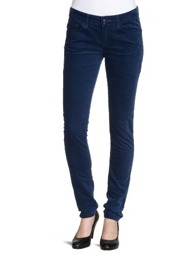 Cross Damen Skinny Jeanshose Adriana P461-020, royal blue, W26/L34
