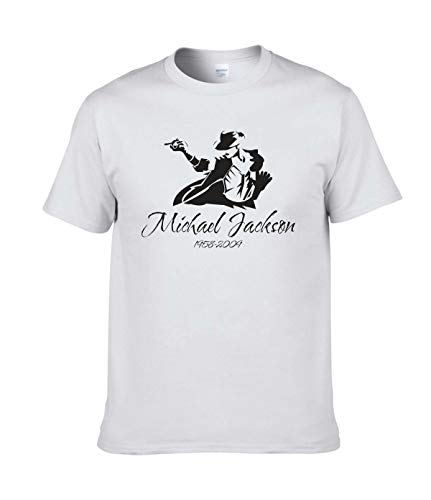 Michael Jackson Herren T-Shirt Gr. S, weiß